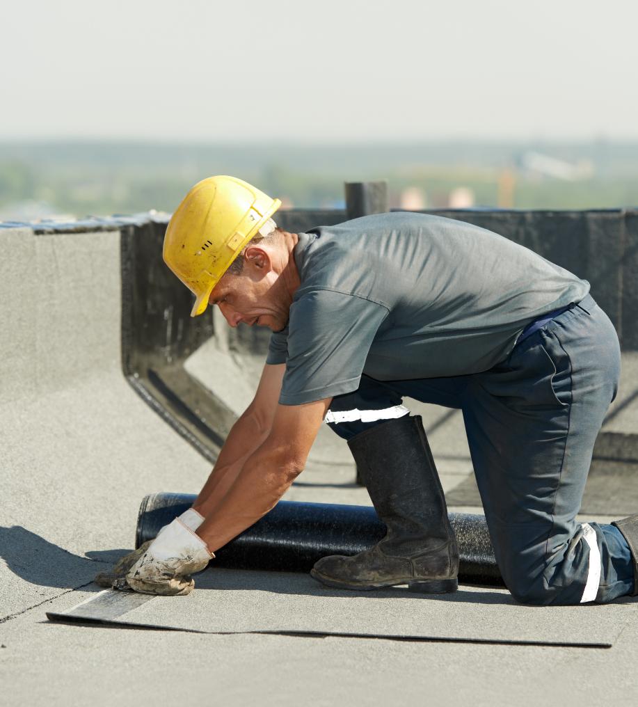 Aplicação de manta asfaltica para telhado em rj