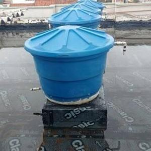 Impermeabilização de caixa d água com manta asfáltica